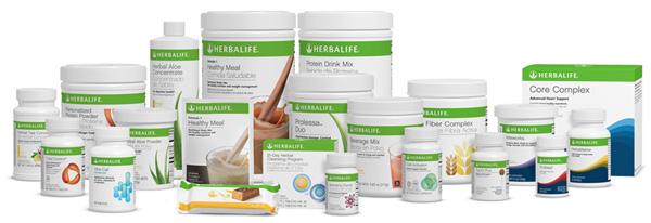 Suplementos nutricionales Herbalife