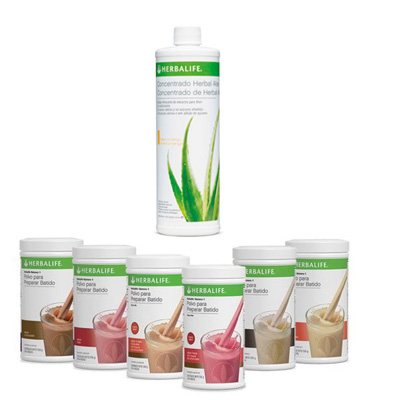 Pack batido fórmula 1 + Concentrado de herbal aloe
