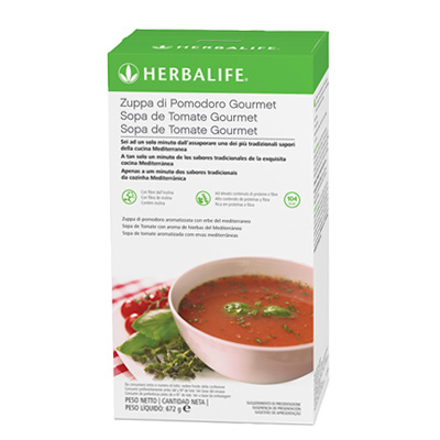 Sopa de tomate Gourmet de Herbalife