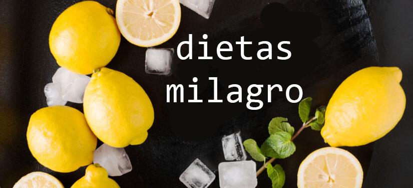 4 consejos para detectar las dieta milagro