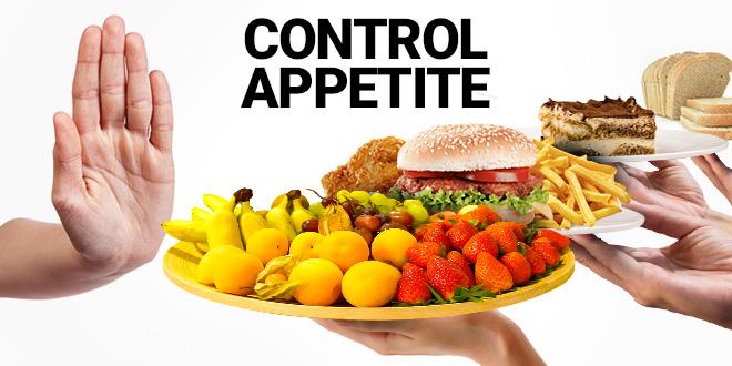 Aprende a controlar tu apetito