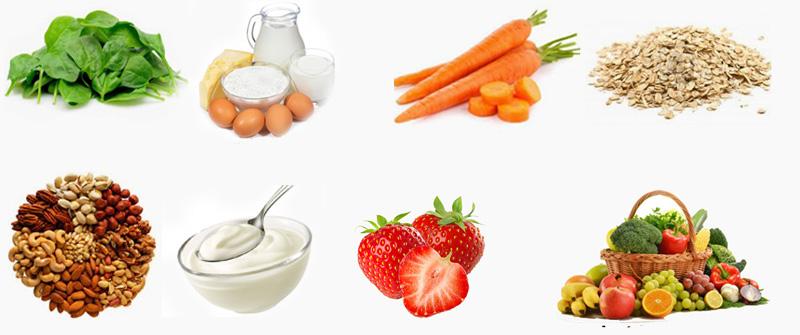 Alimentos para prevenir la caída del cabello