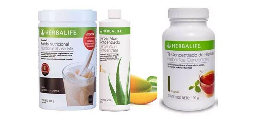 Pack Herbalife pérdida de peso